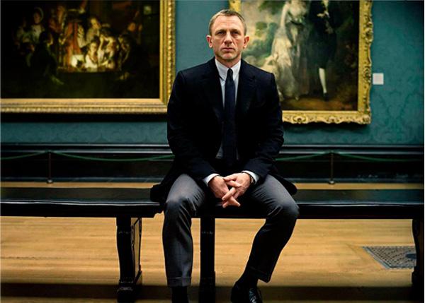 Daniel Craig le style 007
