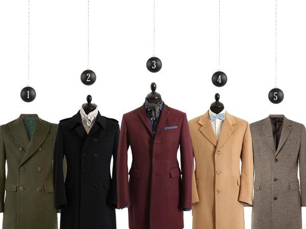 Hiver 2012 : 5 manteaux 3 styles