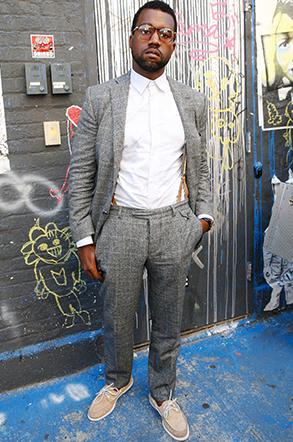 Style - Kanye West - The Men Times par Faubourg Saint Sulpice - Photo: Amy Sussman
