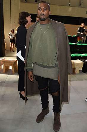 Style - Kanye West - The Men Times par Faubourg Saint Sulpice - Photo: Pascal Le Segretain