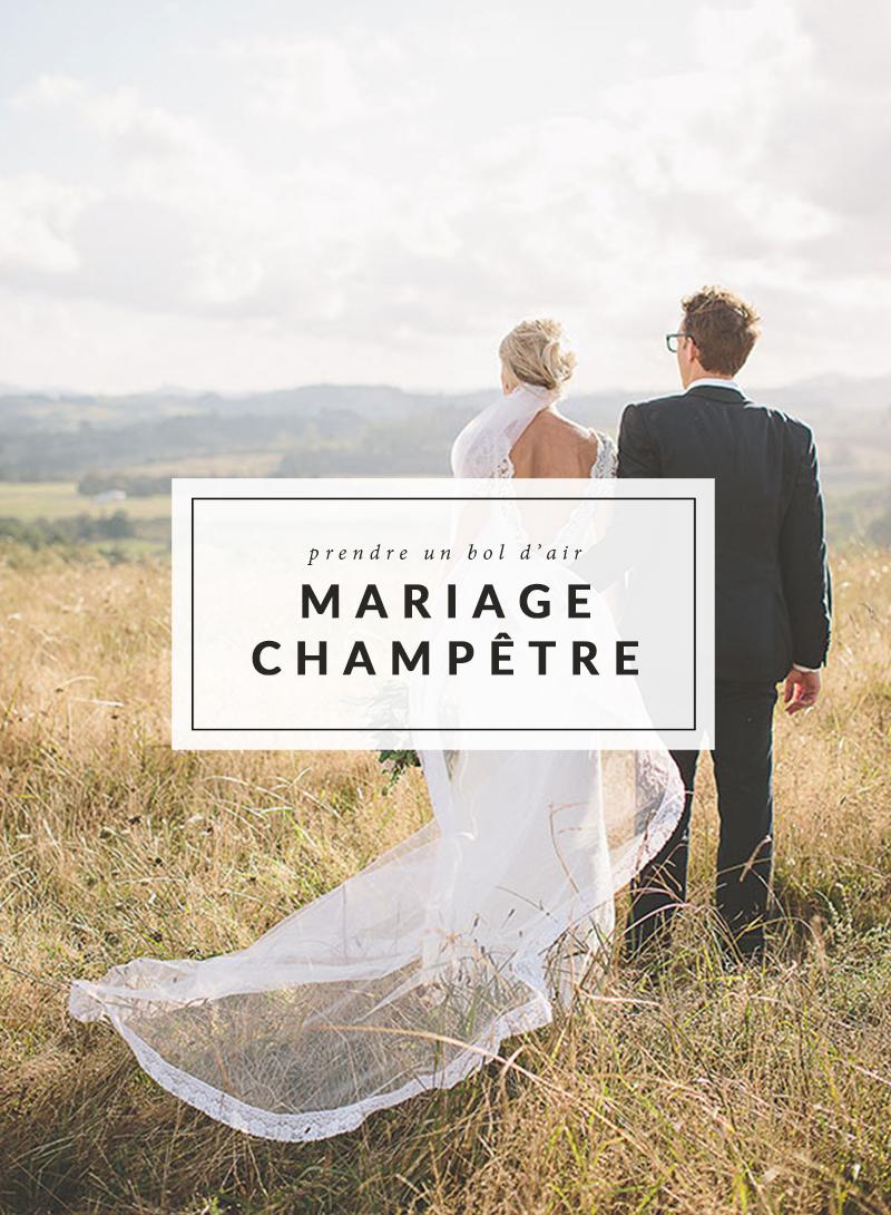 Mariage champêtre - The Men Times par Faubourg Saint Sulpice - Photo: Coralee Stone