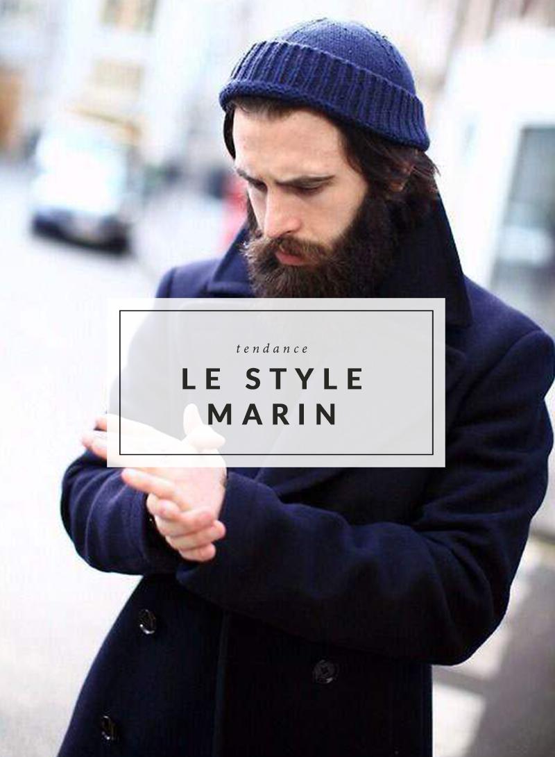9c92af3239 Tendance hiver homme , Le style marin , The Men Times par Faubourg Saint  Sulpice ...