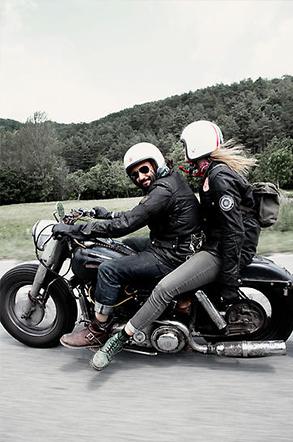 Cafe Racer - Gentlemen Rider - The Men Times par Faubourg Saint Sulpice - Photo: Gotz Goppert
