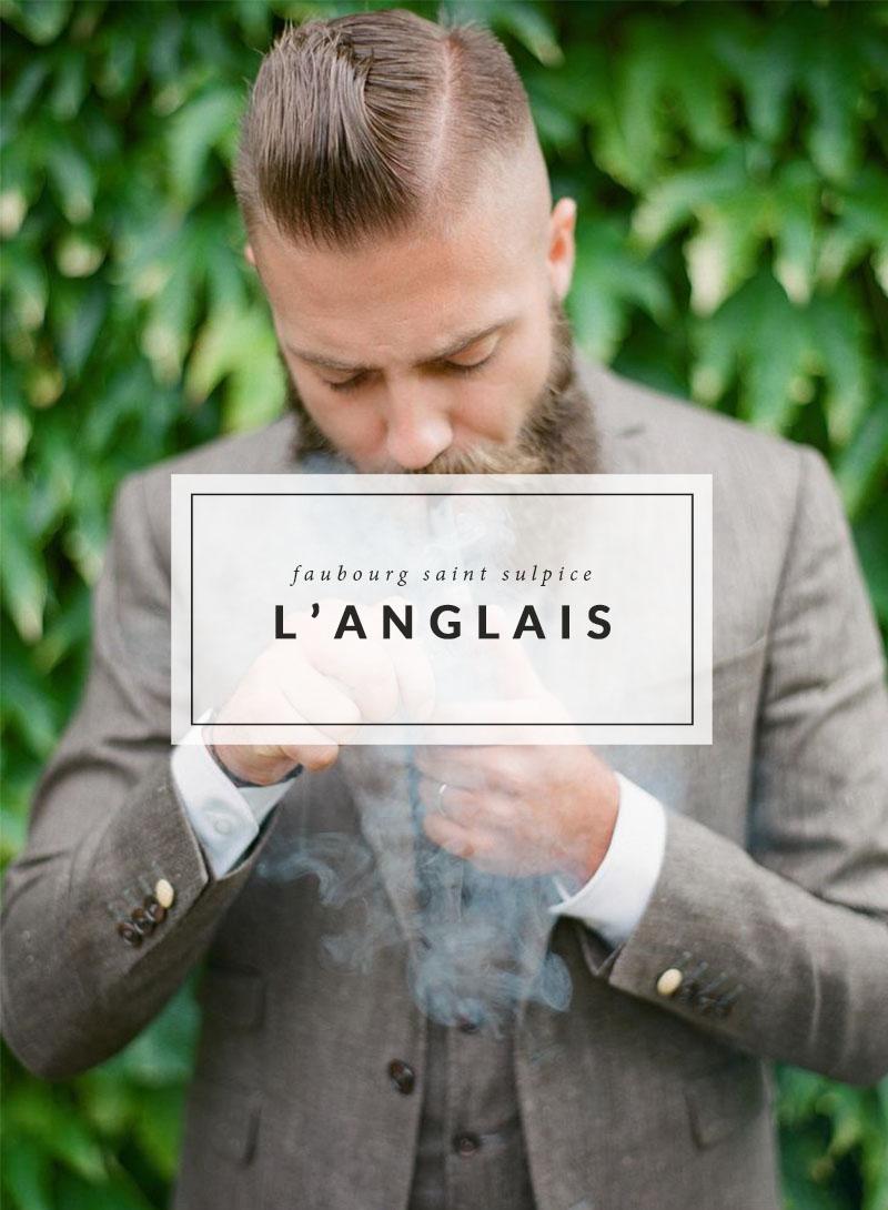 Mariage d'inspiration - L'Anglais - The Men Times par Faubourg Saint Sulpice - Photo: Greg Finck