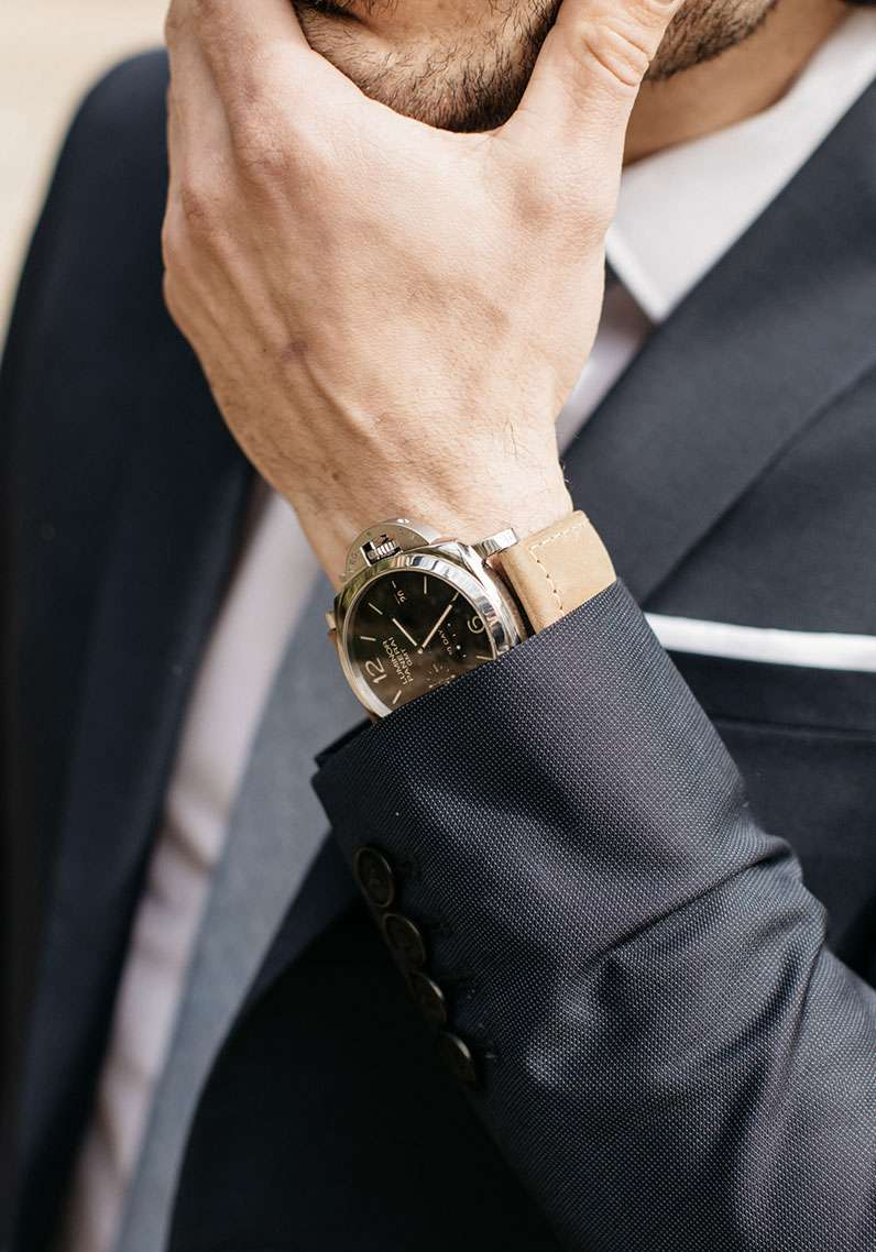 panerai montre de luxe costume sur mesure tailleur association style faubourg saint sulpice